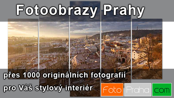 Fotoobrazy Praha - prodej fotoobrazů - Reklama v Praze - propagační banner Praha na Dlani